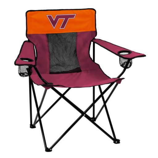 Logo Brand Virginia Tech Hokies Elite Fold-Up Chair