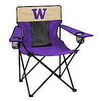Logo Brand Washington Huskies Elite Fold-Up Chair