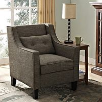 Simpli Home Ashland Club Arm Chair