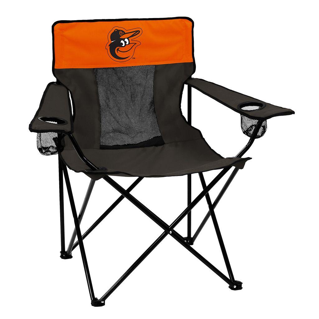 Logo Brand Baltimore Orioles Elite Fold-Up Chair