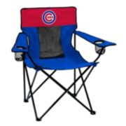 Logo Brand Chicago Cubs Elite Fold-Up Chair