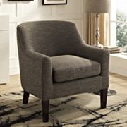 Simpli Home Pauline Club Arm Chair