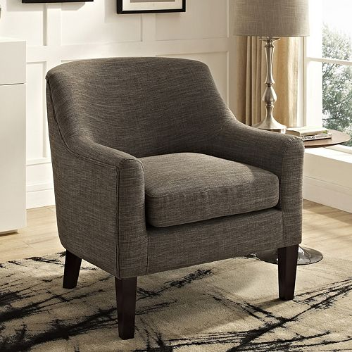 Simpli Home Pauline Club Arm Chair