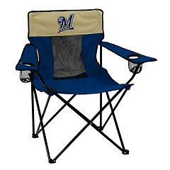 Logo Brand Milwaukee Brewers Elite Fold-Up Chair