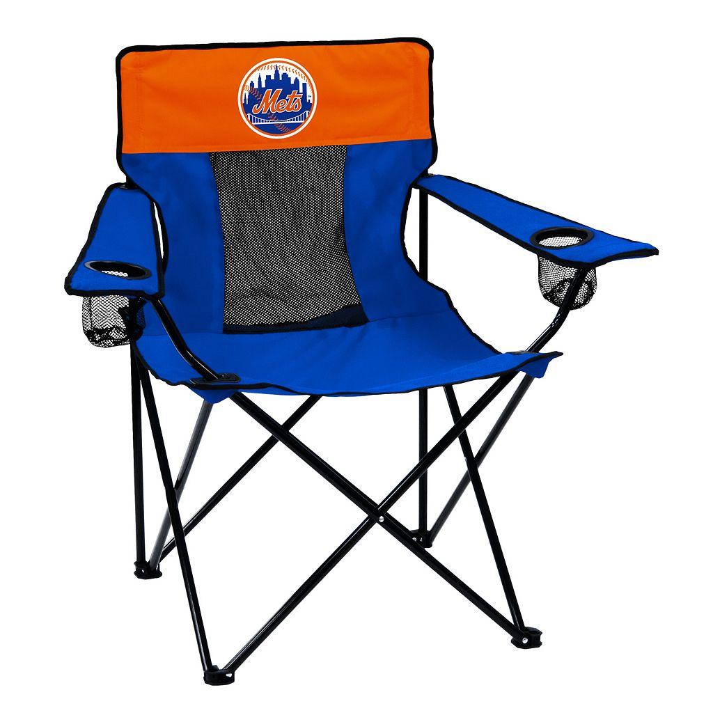 Logo Brand New York Mets Elite Fold-Up Chair