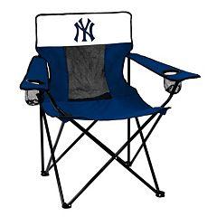 Logo Brand New York Yankees Elite Fold-Up Chair
