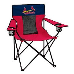 Logo Brand St. Louis Cardinals Elite Fold-Up Chair