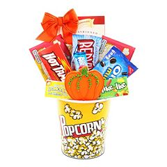Alder Creek Fall Movie Night Gift Basket