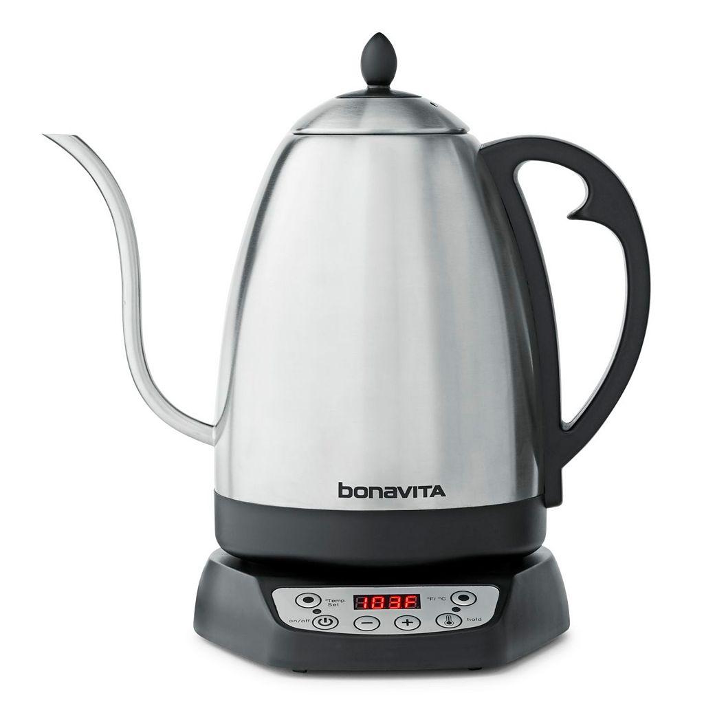 Bonavita 1.7-Liter Variable Temperature Digital Electric Teakettle