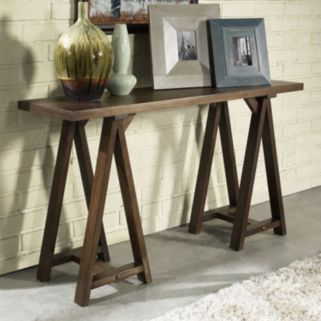 Simpli Home Sawhorse Console Table