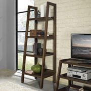 Simpli Home Sawhorse Ladder Bookshelf