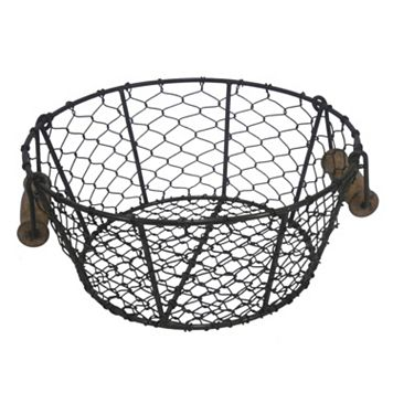 SONOMA Goods for Life™ Handle Chicken Wire Decorative Bowl