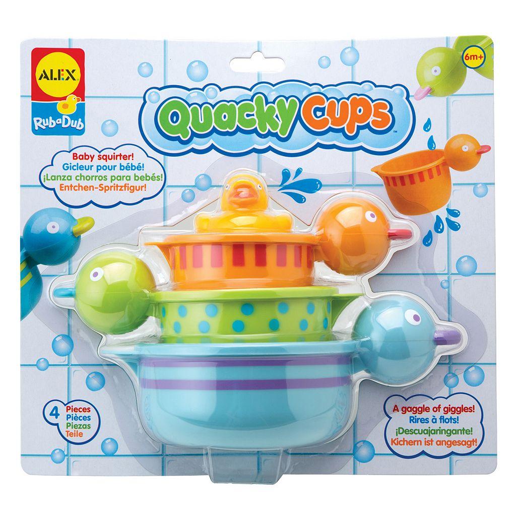 ALEX Rub a Dub Quacky Cups