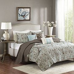 Madison Park Lavinia 6-pc. Coverlet Set