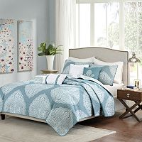 Madison Park Sadie 6-pc. Reversible Coverlet Set