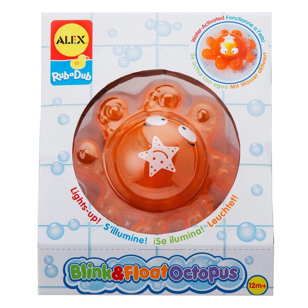 ALEX Rub a Dub Blink & Float Octopus