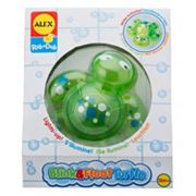ALEX Rub a Dub Blink & Float Turtle