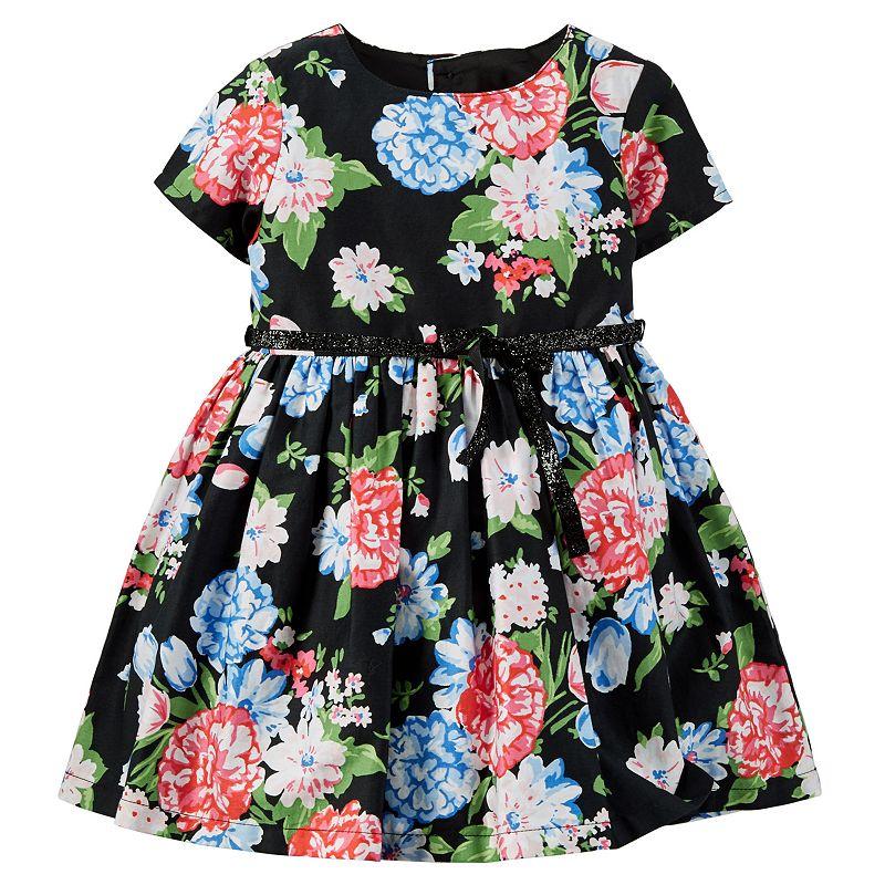 Carter's Sateen Dress - Baby Girl