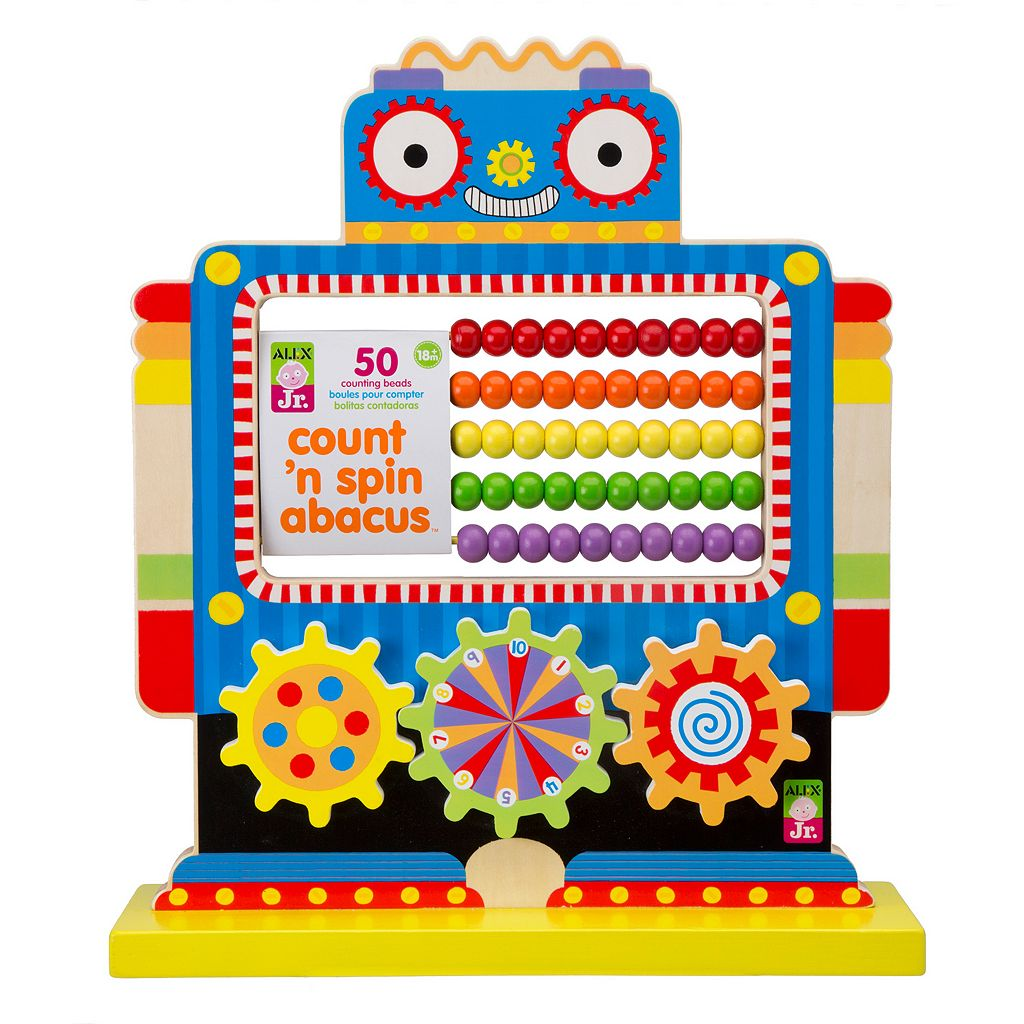 ALEX Jr. Count 'N Spin Abacus Robot