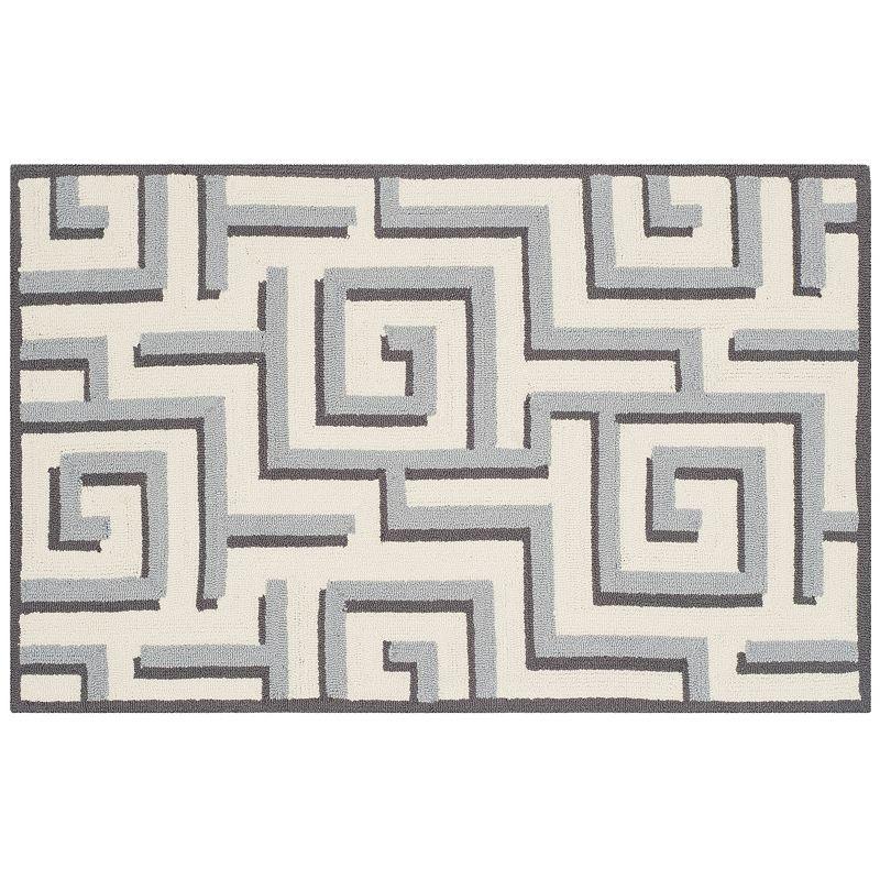 Safavieh Four Seasons Margate Geometric Indoor Outdoor Rug, 8X10 Ft