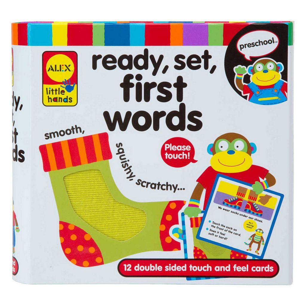 ALEX Little Hands Ready, Set, First Words
