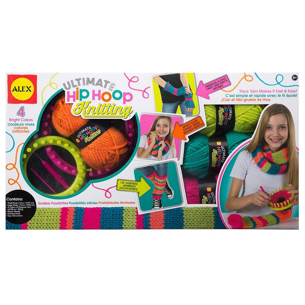 ALEX Ultimate Hip Hoop Knitting