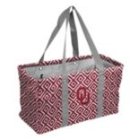 Logo Brand Oklahoma Sooners Diamond Picnic Caddy