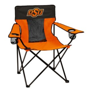Logo Brand Oklahoma State Cowboys Elite Fold-Up Chair
