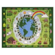 Fun Rugs Fun Time Go Green Rug