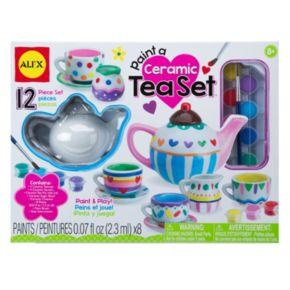 ALEX Paint A Ceramic Tea Set