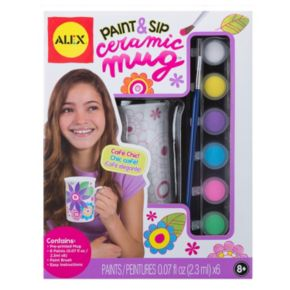 ALEX Paint & Sip Ceramic Mug