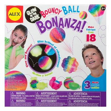 ALEX Glow In The Dark Bouncy Ball Bonanza
