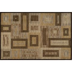 Momeni Blocks Geometric Rug