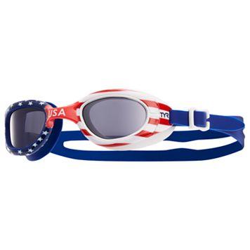 TYR Men's Flag Goggles