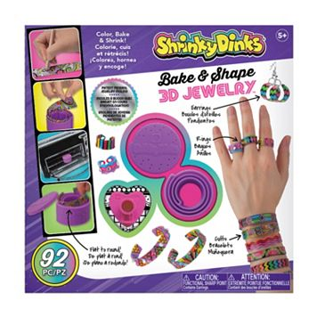 ALEX Shrinky Dinks Bake & Shape 3D Jewelry