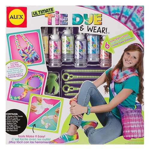 ALEX DIY Wear Ultimate Tie Dye & Wear