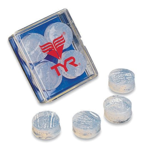 Men's TYR Soft Silicone Ear Plugs