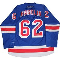 Steiner Sports Carl Hagelin Signed New York Rangers Jersey