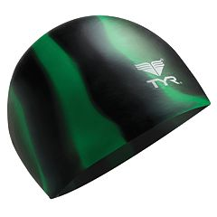 TYR  Silicone Multi-Color Swim Cap