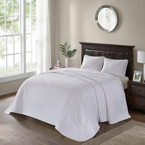 Madison Park Mansfield 3 Pc Bedspread Set