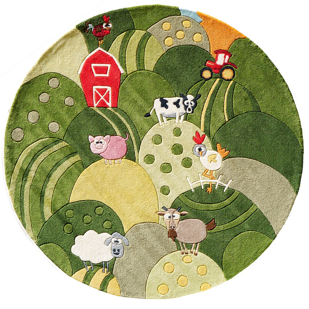 Momeni Lil Mo Whimsy Farm Rug