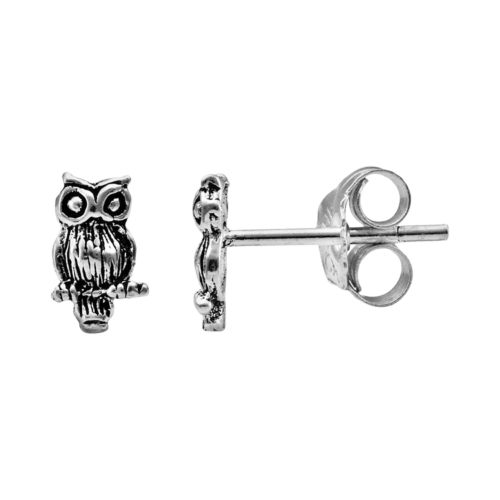 Itsy Bitsy Sterling Silver Owl...