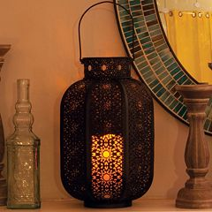 Cadiz LED Candle Lantern