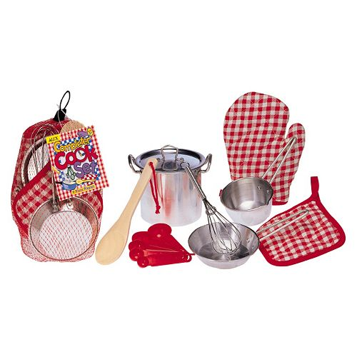 ALEX Pretend & Play Completer Cook Set