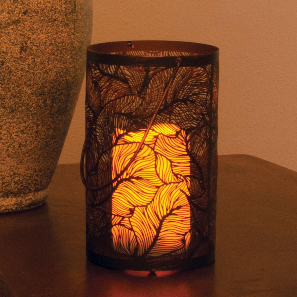 Panama LED Candle Lantern
