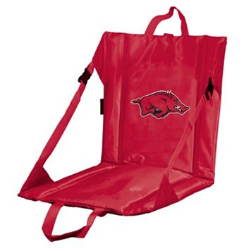 Logo Brand Arkansas Razorbacks Folding Stadium Seat