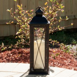 Siena LED Metal Table Lantern