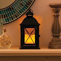 Aversa LED Metal Lantern