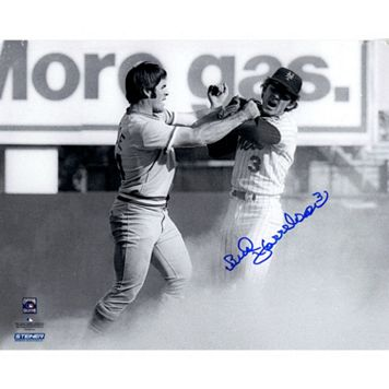 Steiner Sports Bud Harrelson Fighting Pete Rose Signed 8