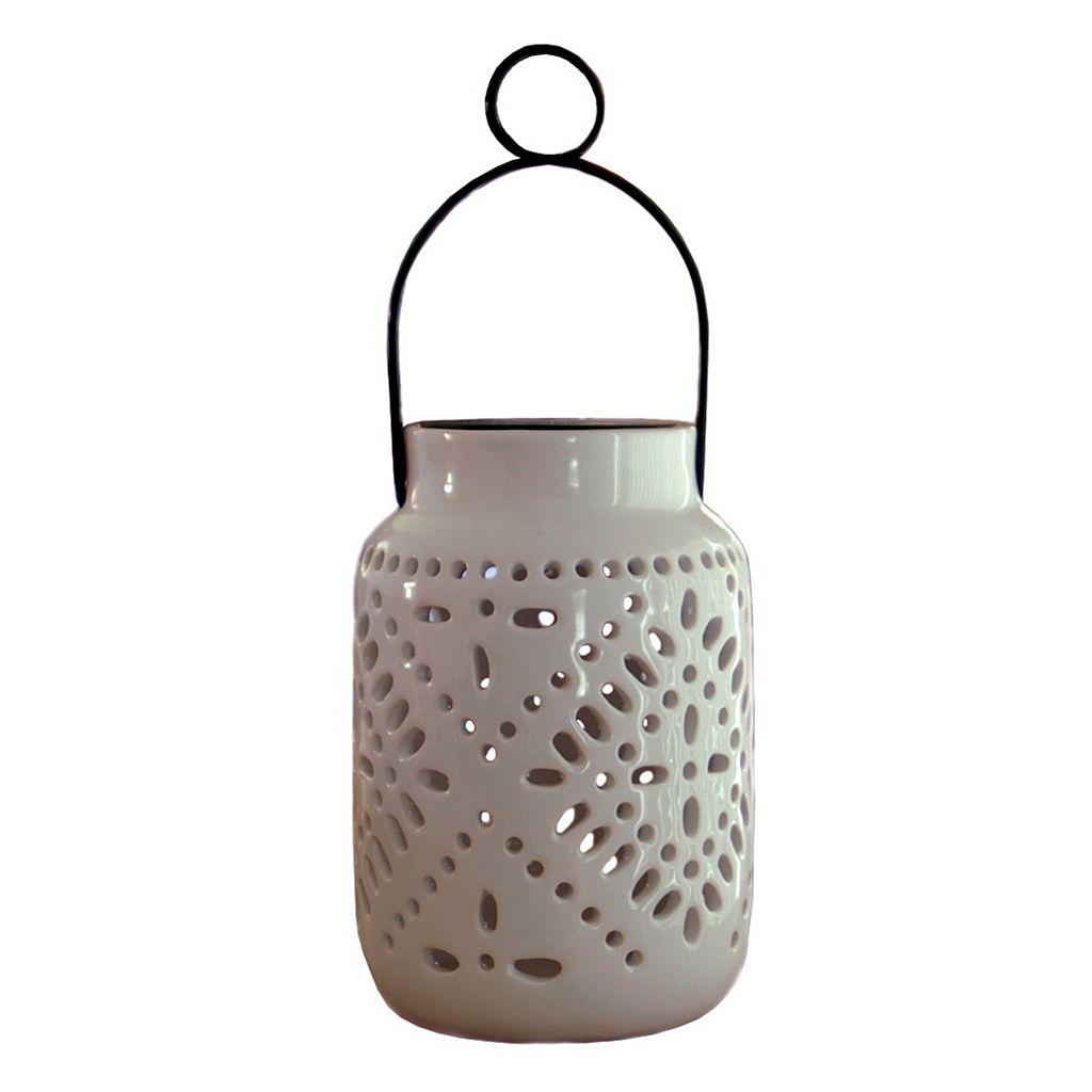 Tangier LED Ceramic Jar Lantern